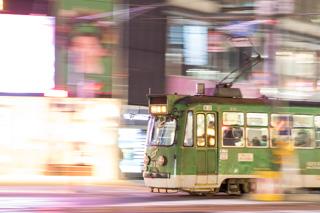 ポラリスから雪ミク札幌市電まで-日中とは違う夜の楽しさ明るい場所の夜間撮影