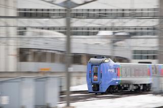 スーパー宗谷の幕が気になる-貨物列車脱線によるスーパー北斗4号が運休だった朝の時間