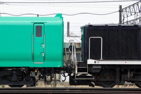 札幌運転所のいつもの場所にマヤ34が居ない!-試1191と試1192