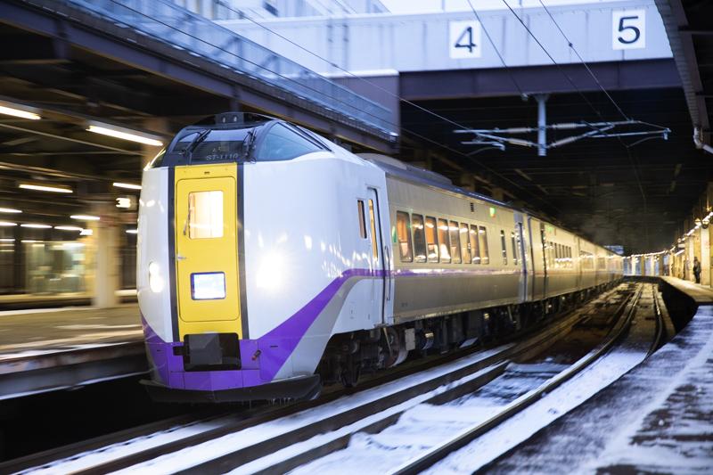 札幌駅でいつもの撮りはじめ-そして仕事も始まった